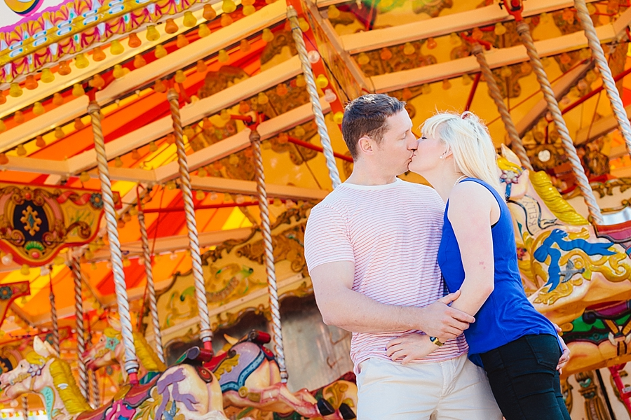 fairground ride wedding