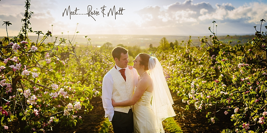 Orchard Weddings In Kent