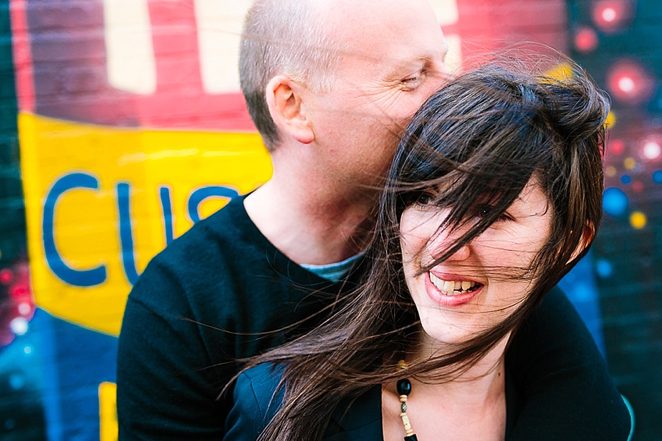 Custard Factory Engagement Session