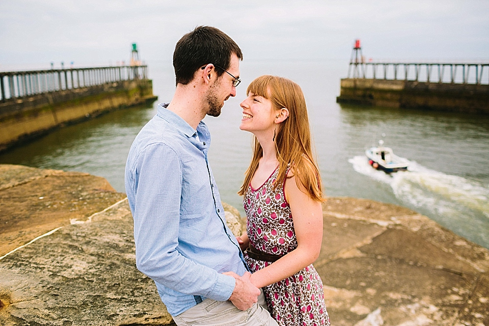 Whitby Harbour Engagement