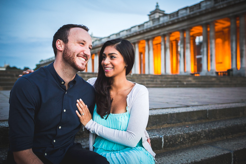 Kieran & Vinita - Greenwich Engagement Shoot - Jackson & Co Photography-41