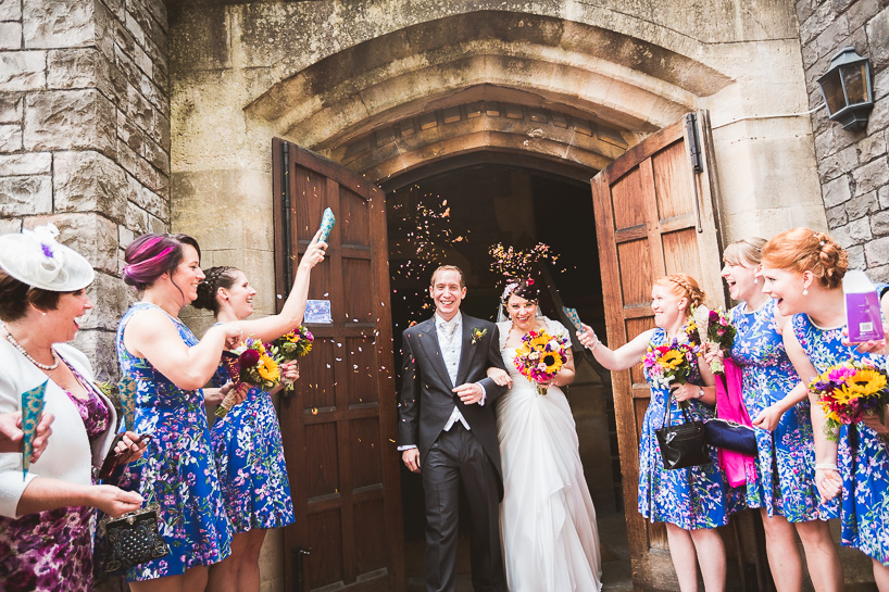 Kingscote Barn Wedding | Laura & James-11