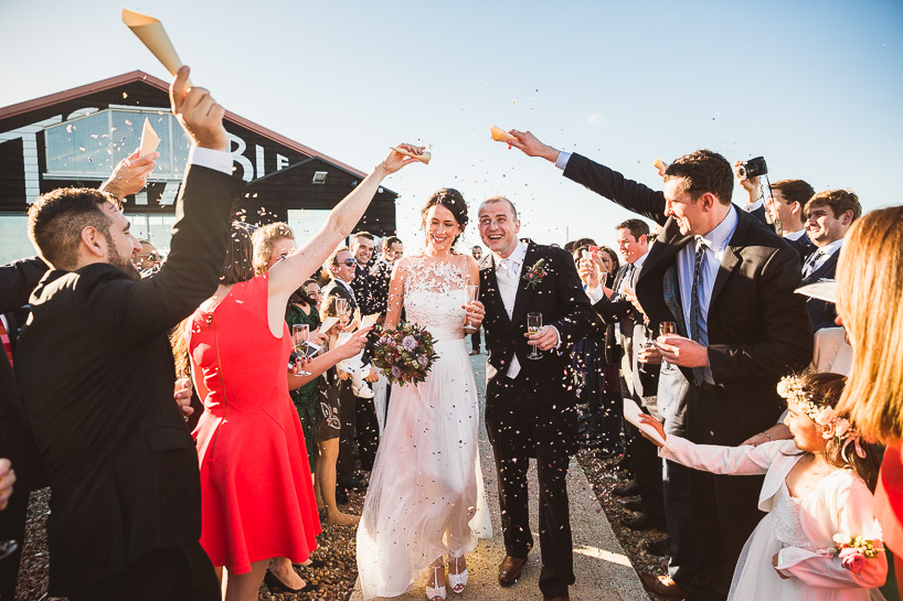 East Quay Lobster Shack Whitstable Wedding Photography