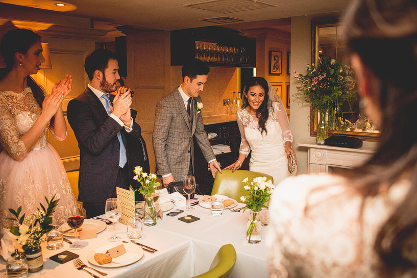 Chiswell Street Dining Room Wedding
