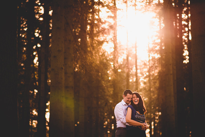 Christina & Andre | Virginia Water Engagement Shoot-20