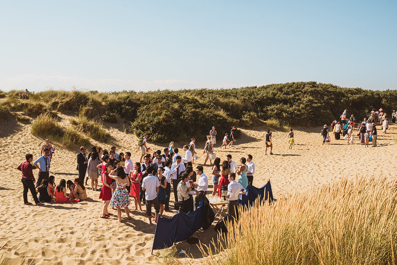 Camber Sands Wedding