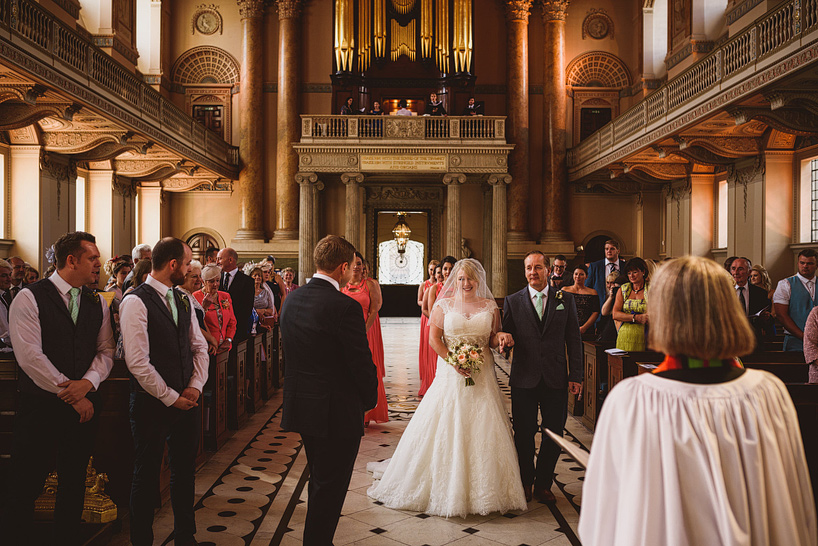 Greenwich Naval College Wedding