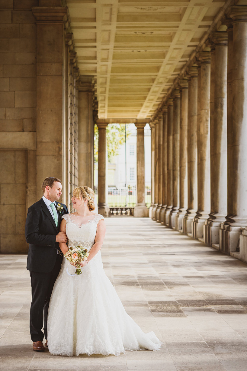 Wedding At Greenwich Naval College