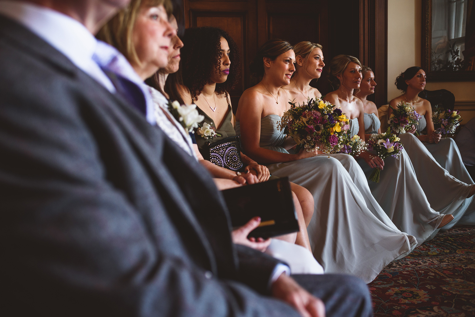 Wedding Ceremony At Walcot Hall