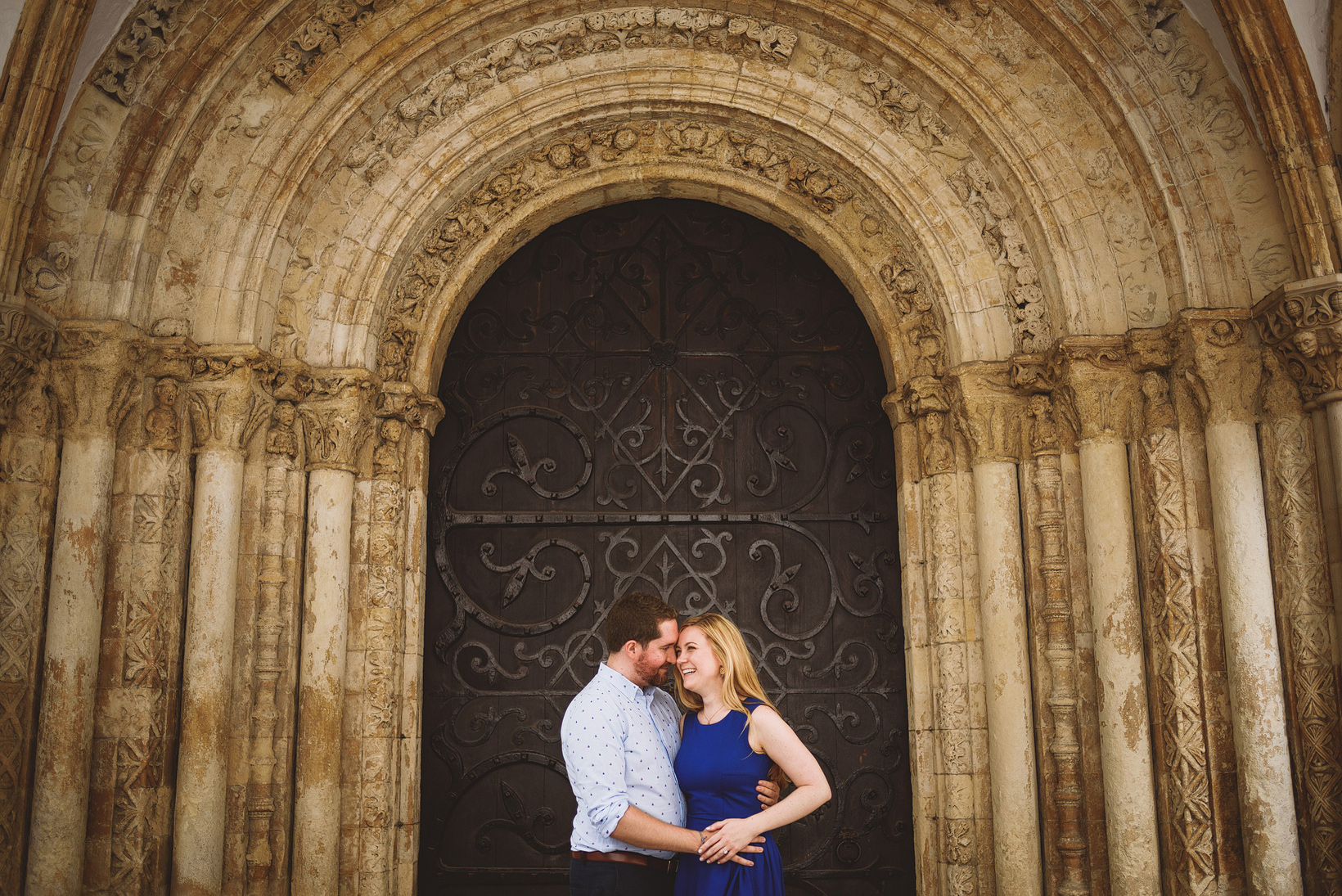 Somerset House Engagement Shoot