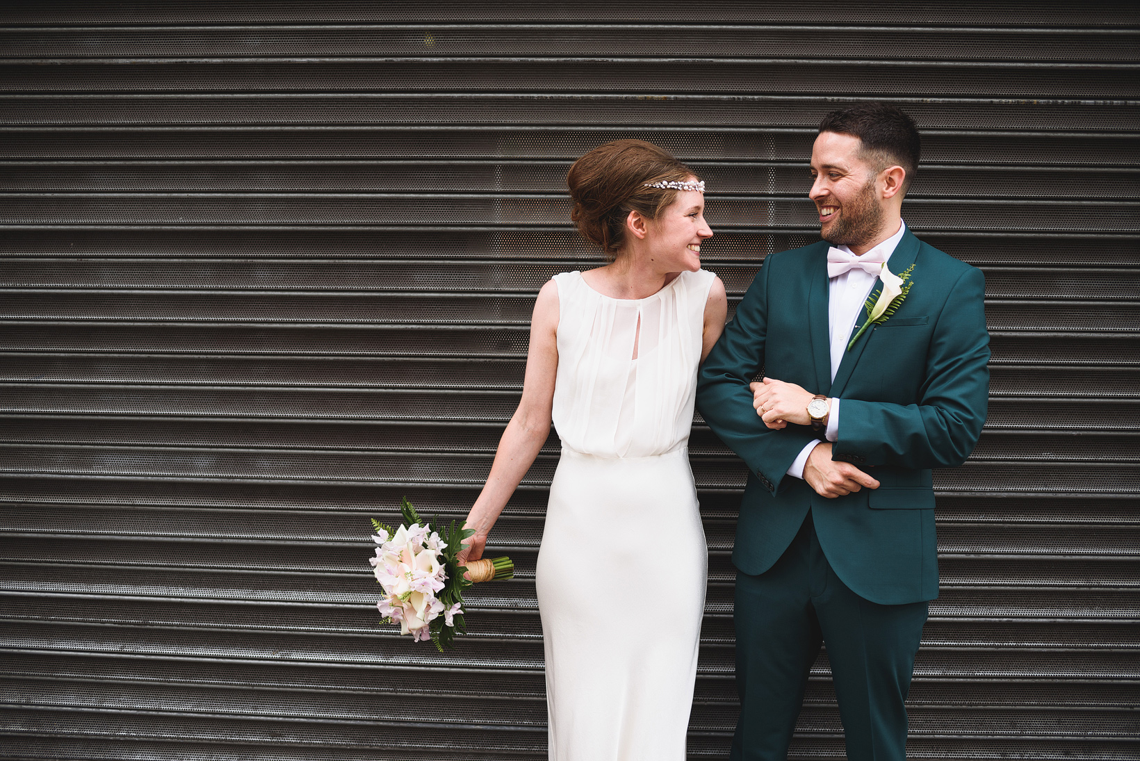 Green Wedding Suit