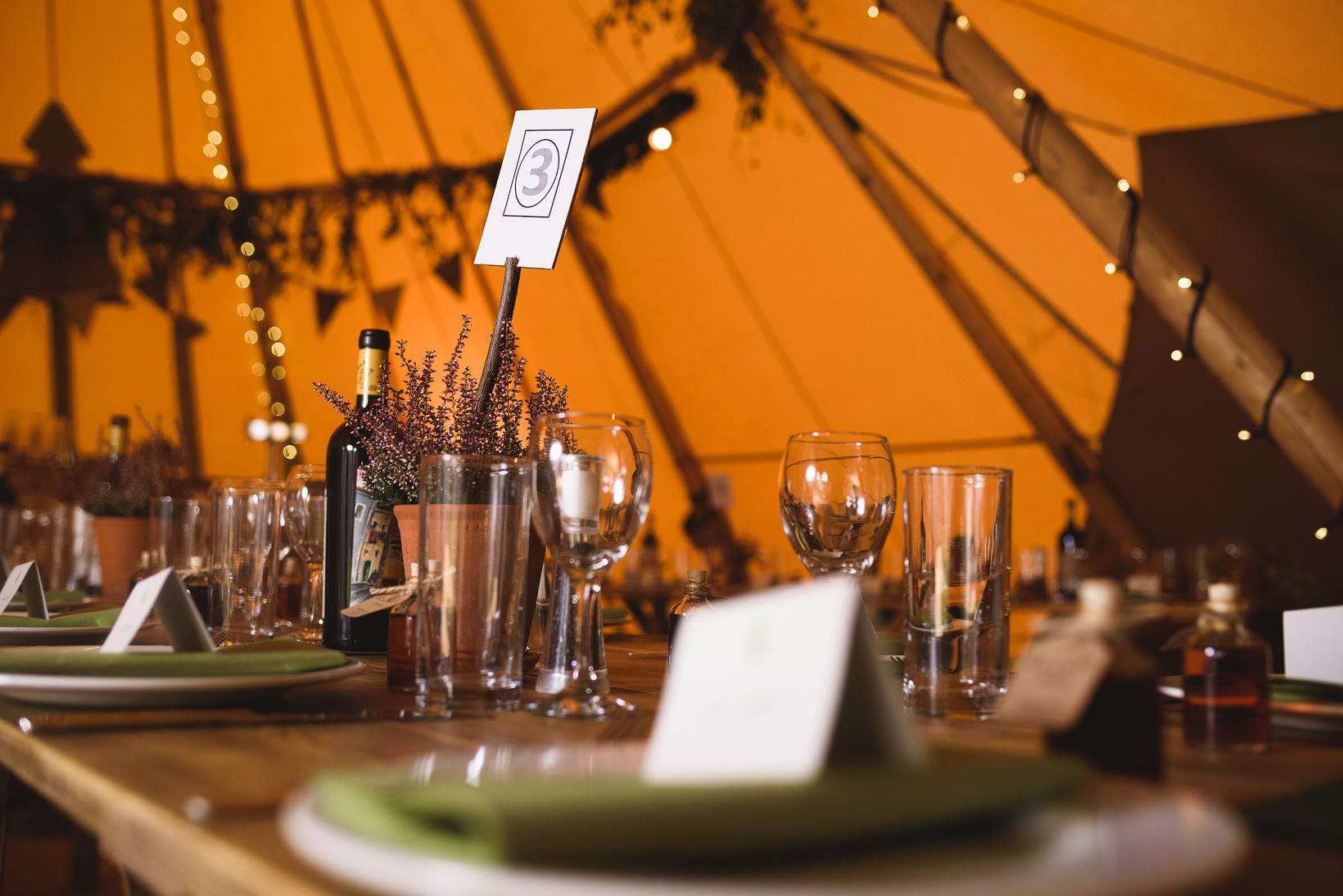 Buffalo Tipi Wedding