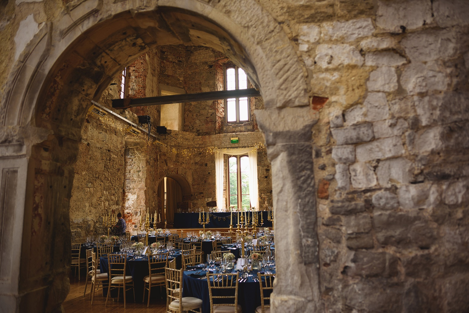 Lulworth Castle Wedding
