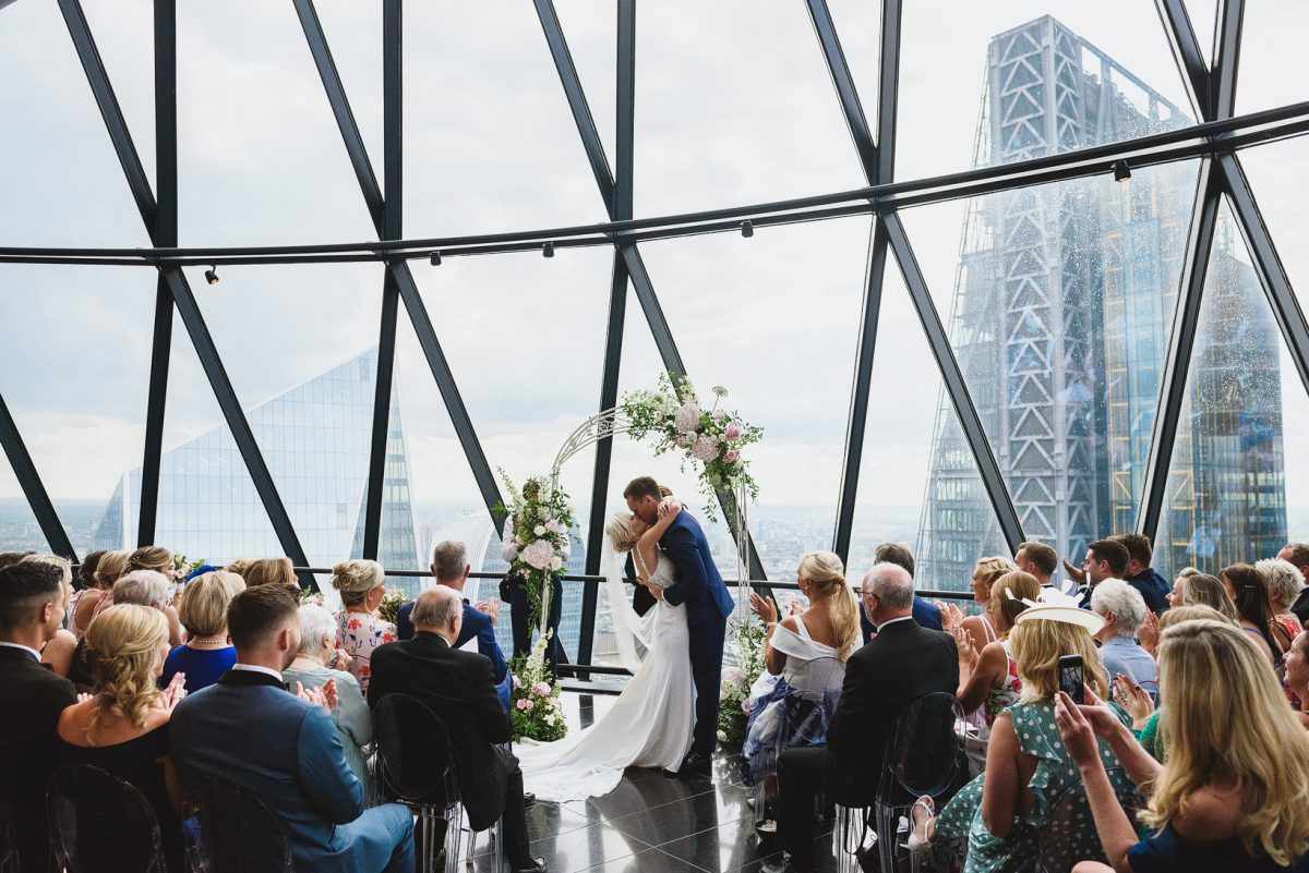 Gherkin Wedding Photographer