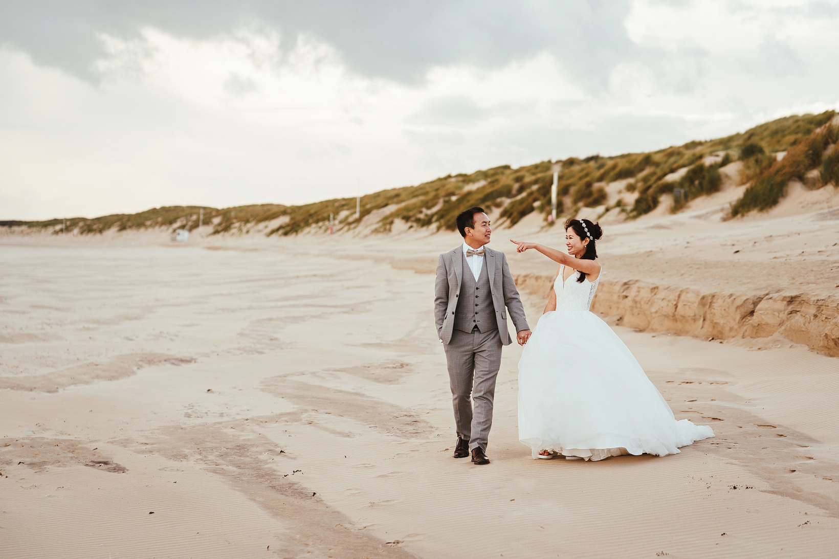 Camber Sands Engagement Shoot