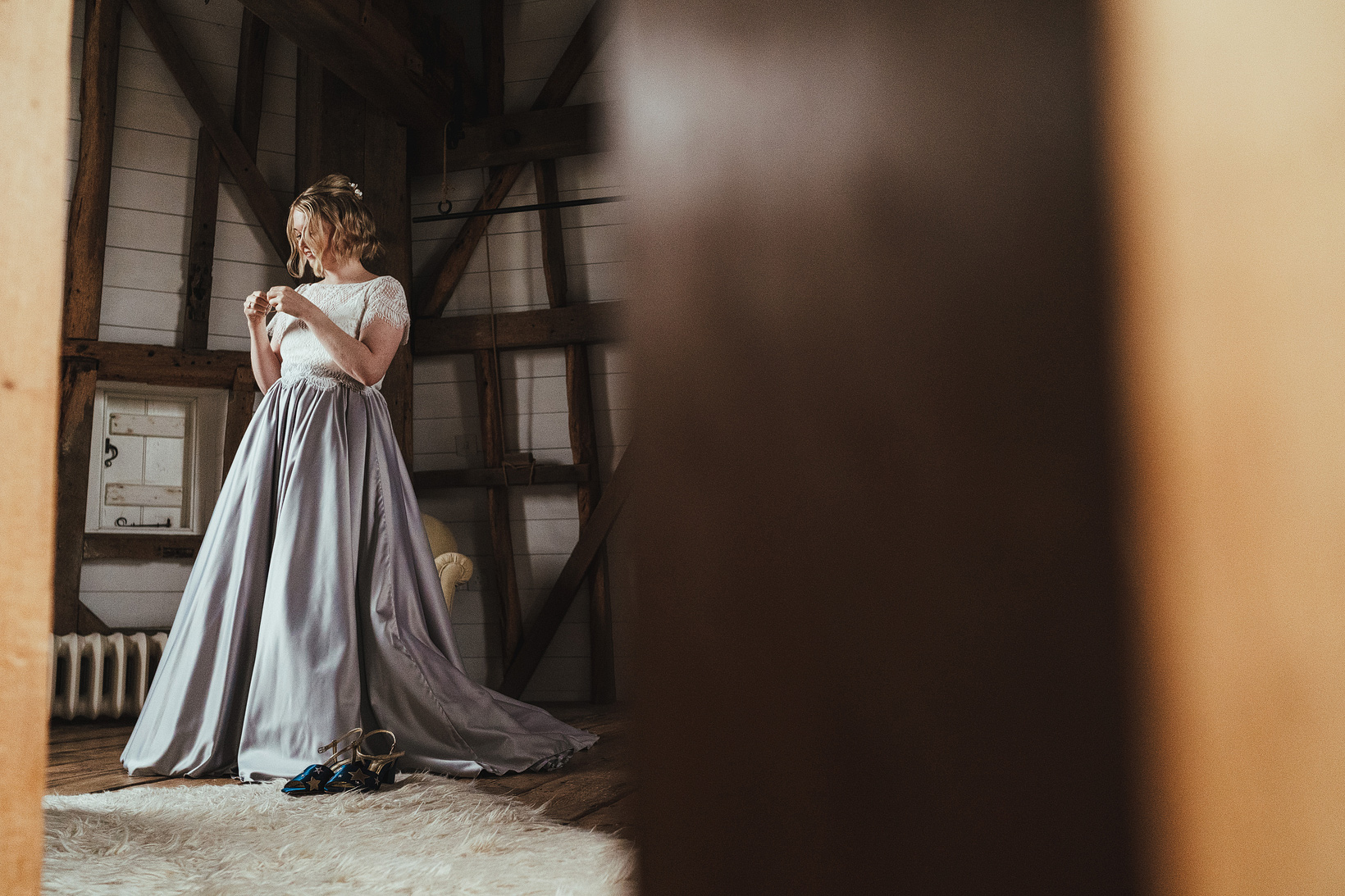 The Great Barn At Rolvenden Wedding