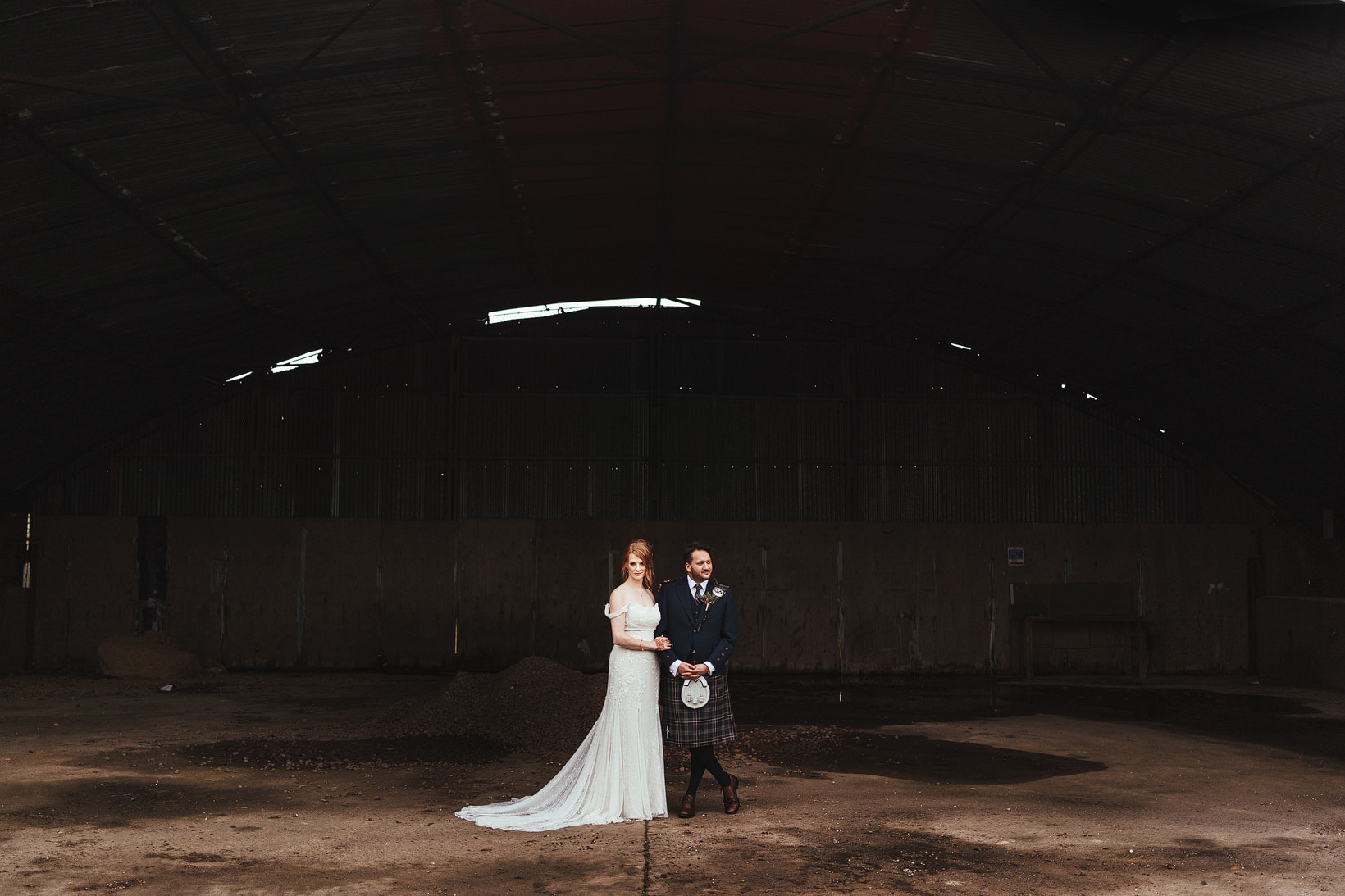Clock House Barn Wedding