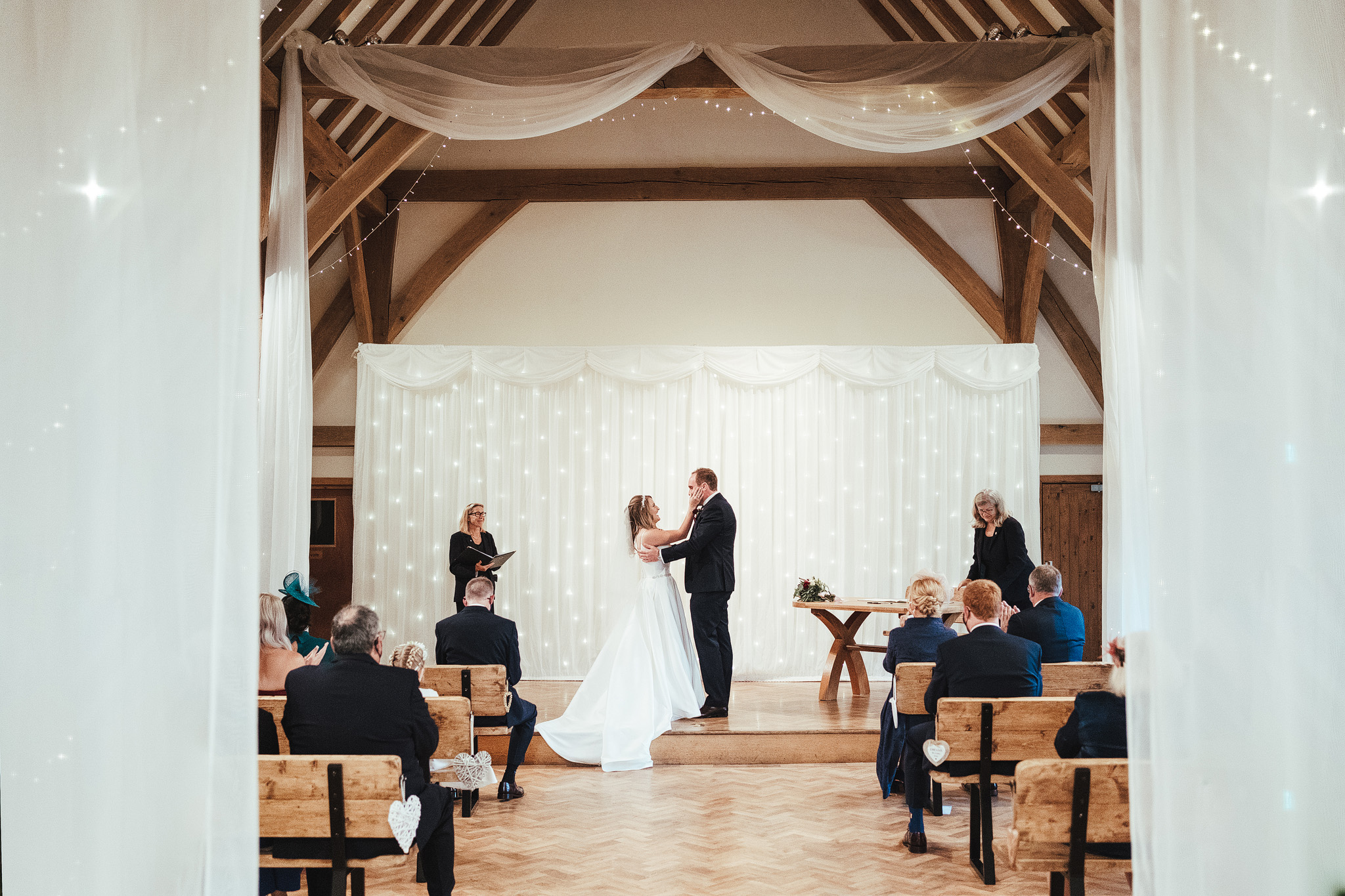 The Old Barn Kent Wedding